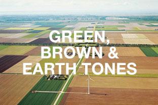 Green, Brown, Earth Tones Rugs