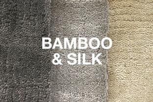 Bamboo & Silk Rugs